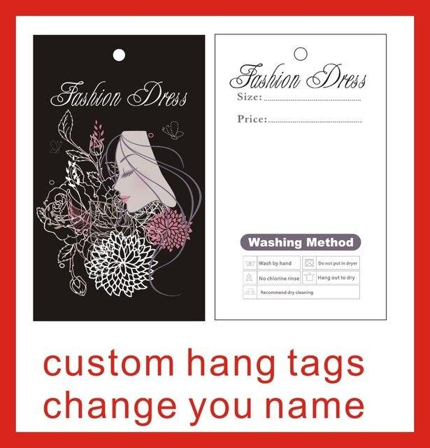 Kleidungsstück hängen tags benutzerdefinierte druck hängen tags ...