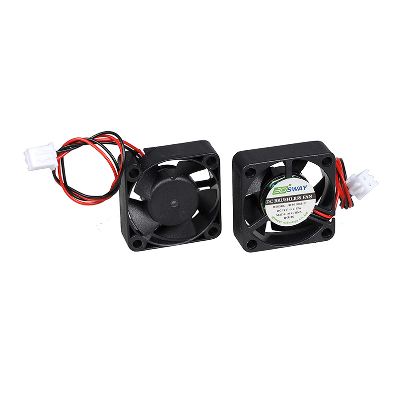 3D printer ball bearing cool fan 24V XH2.54-2P 150mm cable 10000RPM 50000-60000 hours life low noise stable speed ...