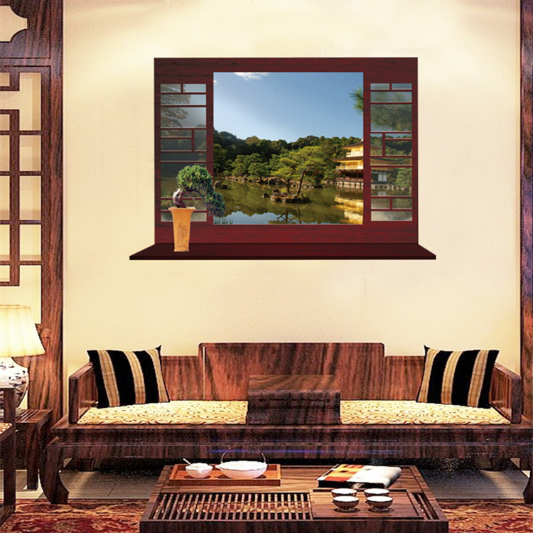 Creative Wall Of Sitting Room Bedroom Study Of New Chinese ...