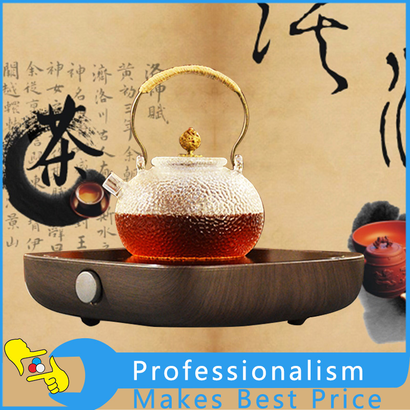 Electric Mini Tea Stove Electric Radiant Ceramic Cooktop Infrared Radiant Burner for Tea Cooking 220V wholesale dual dutch piece suit yixing tea tray ceramic ru ding black dragon tea