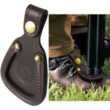Tourbon protection de tir sur pieds en cuir à largile, piège de repos, accessoires de jeux