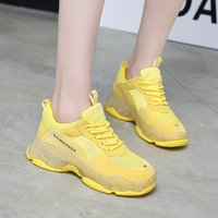 2019 Spring Autumn New Women Casual Shoes Comfortable Mesh Platform Shoes Woman Sneakers Ladies Trainers Chaussure Femme T9900
