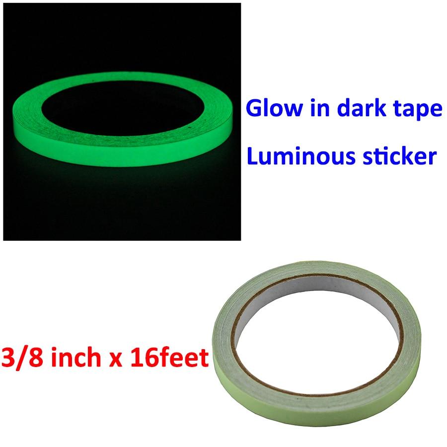 30 Glow in the Dark Light Switch Egress Decorative Round Multi Purpose Stickers