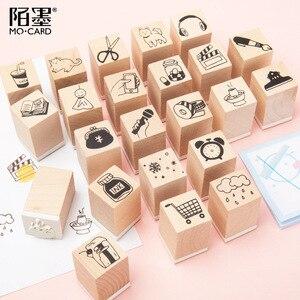 TUNACOCO Inkpad INSTAGRAM Cute Stamp Seal Signet Social Application Little Stuff for Bullet Journal DIY Crafts Qt1710120