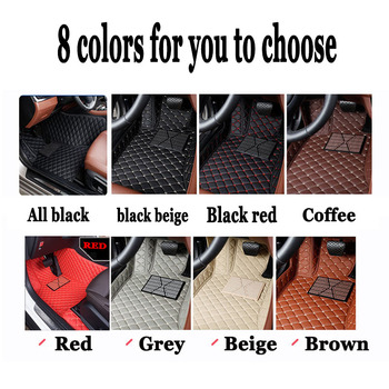 Special Custom fit car floor mats right hand drive for Land Rover Discovery 3/4 2 Sport Range Rover Sport Evoque  rug liners