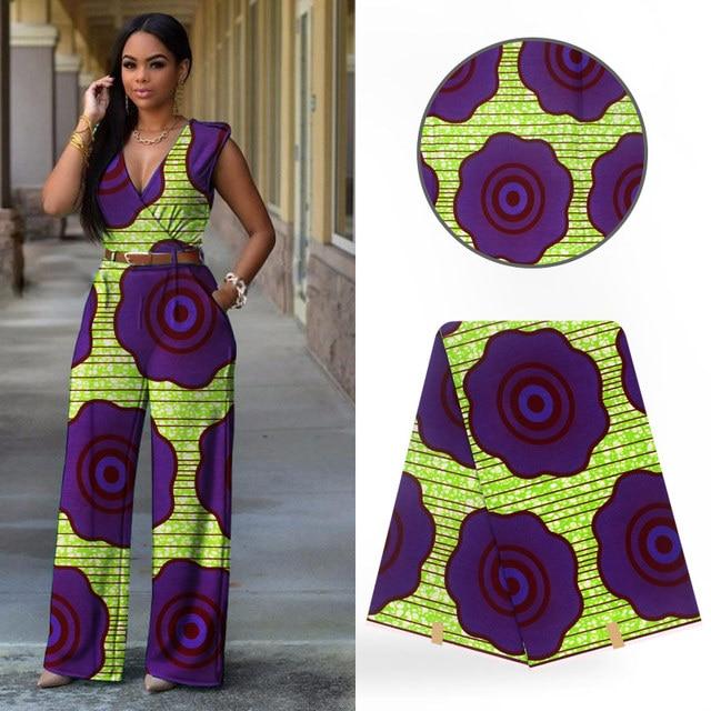 New design 6 yards of African fabric wholesale African wax prints fabric new java wax Ankara fabric for dress