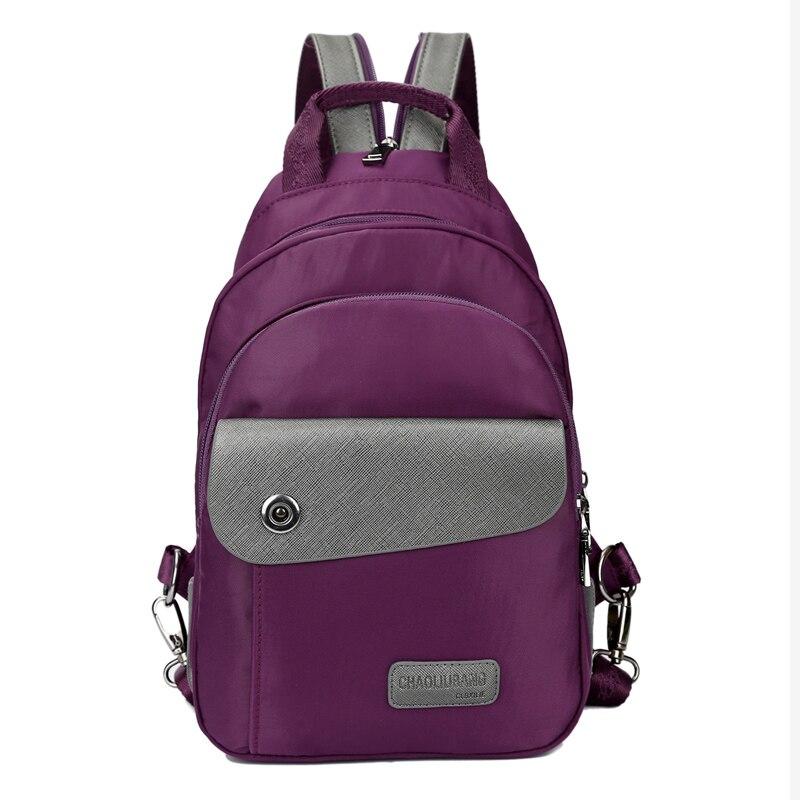 Ragazze Black purple Donne Zaini Per Scuola Signore Nuovo Casual 2018 Femminile Viaggio Nylon Di Zainetto Adolescenti blue Zaino WwTwpqYnZR