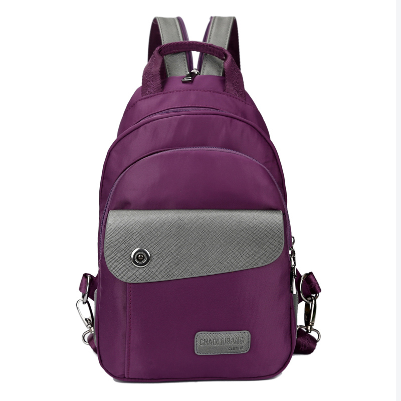Women Backpacks 2017 New Nylon School Bags for Teenage Girls Casual Female Travel Knapsacks Ladies Rucksacks