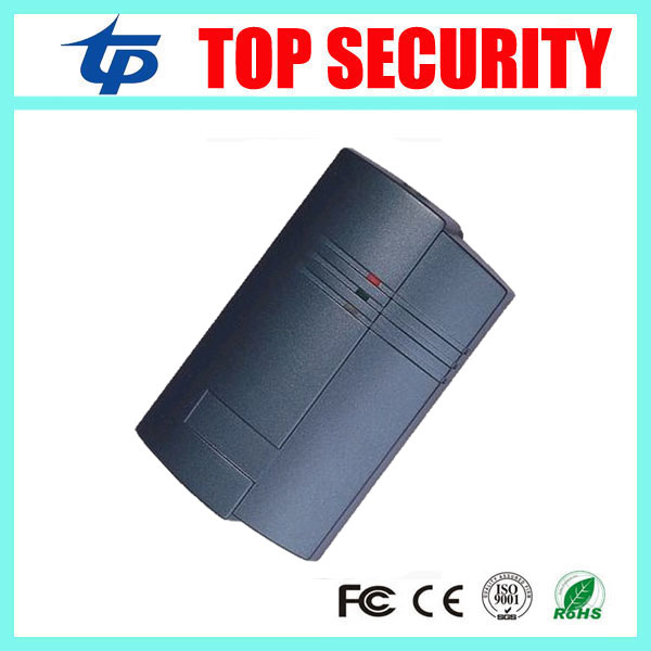 Wiegand26 wiegand34 RFID card reader IP65 waterproof door access control card reader wiegand communication with LED light led indicators ip65 waterproof wiegand 26 34 door access control reader 125khz or 13 56mhz rfid reader proximity reader kr100