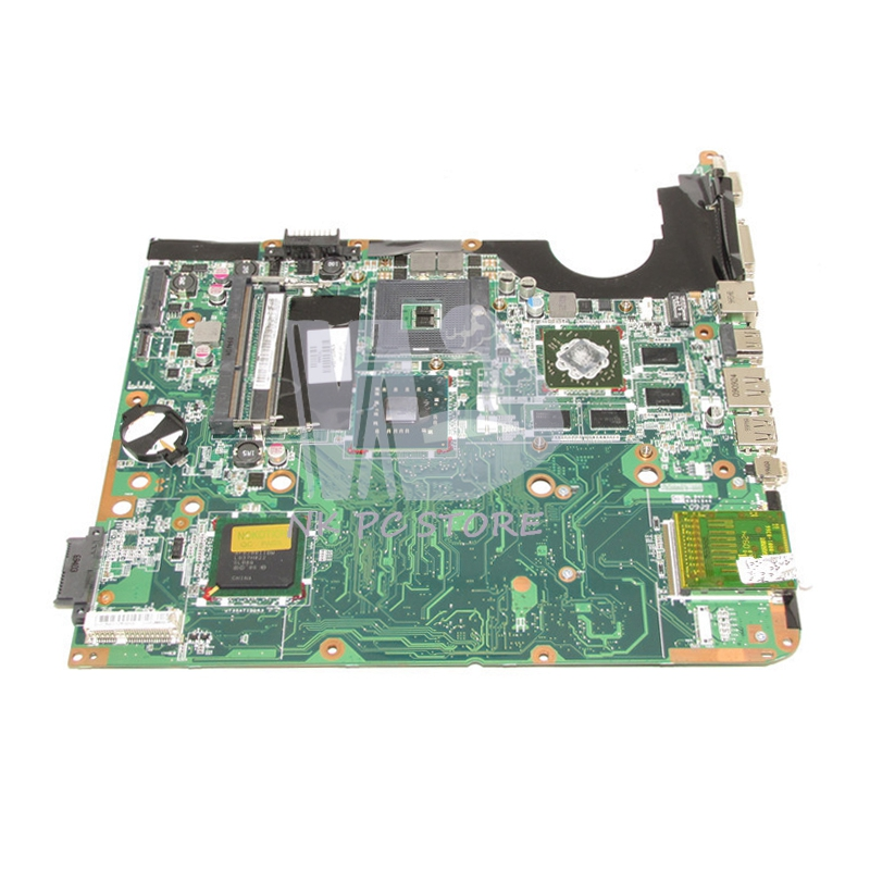 578377-001 Main Board For Hp Pavilion DV6 DV6-1000 Laptop motherboard PM45 DDR3 with Graphics Card Free CPU 815248 501 main board for hp 15 ac 15 ac505tu sr29h laptop motherboard abq52 la c811p uma celeron n3050 cpu 1 6 ghz ddr3
