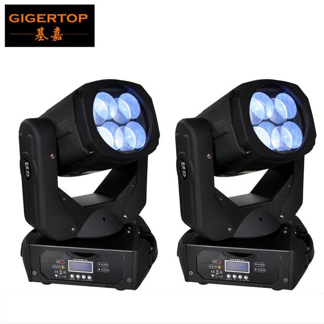 Cheap Price 2XLOT Newest 4*25W Super Beam 130W LED Moving Head Beam Light For Disco Nightclub DJ Bar CE 110V-240V DMX control