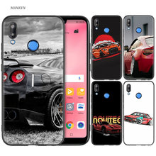 Silicone Case Cover for Huawei P20 P10 P9 P8 Lite Pro 2017 P Smart+ 2019 Nova 3i 3E Phone Cases Drift Cars Auto(China)
