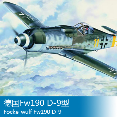 Trumpeter 1/24 German aircraft Fw190 D-9 [model] trumpeter ta 3b 02870 1 48 us air warrior attack aircraft