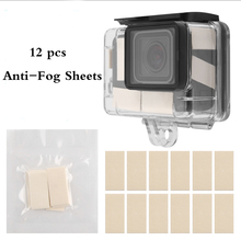 Anti Fog Sheet Inserts - 12 pcs of Reusable Moisture Absorbing Strips Humidity Removing Defogger for Camera Underwater Housing
