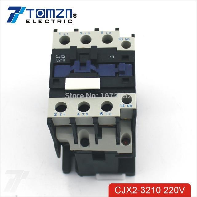 CJX2 3210 AC contactor LC1 32A 220V 50HZ/60HZ