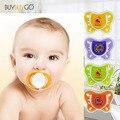 1 Pcs Bonito Chupeta Nipple Chupeta Do Bebê de Silicone de Alta Qualidade BPA Livre Teats Mamilos Alimentação Do Bebê (4 Diferentes Estágios)