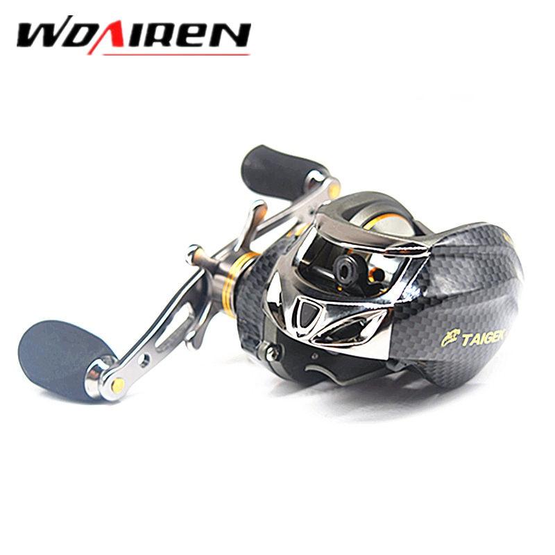 18 Ball Bearings Water Drop Wheel Double Brake Daiwa Taige Carretilha Bait casting Reel Fishing Gear