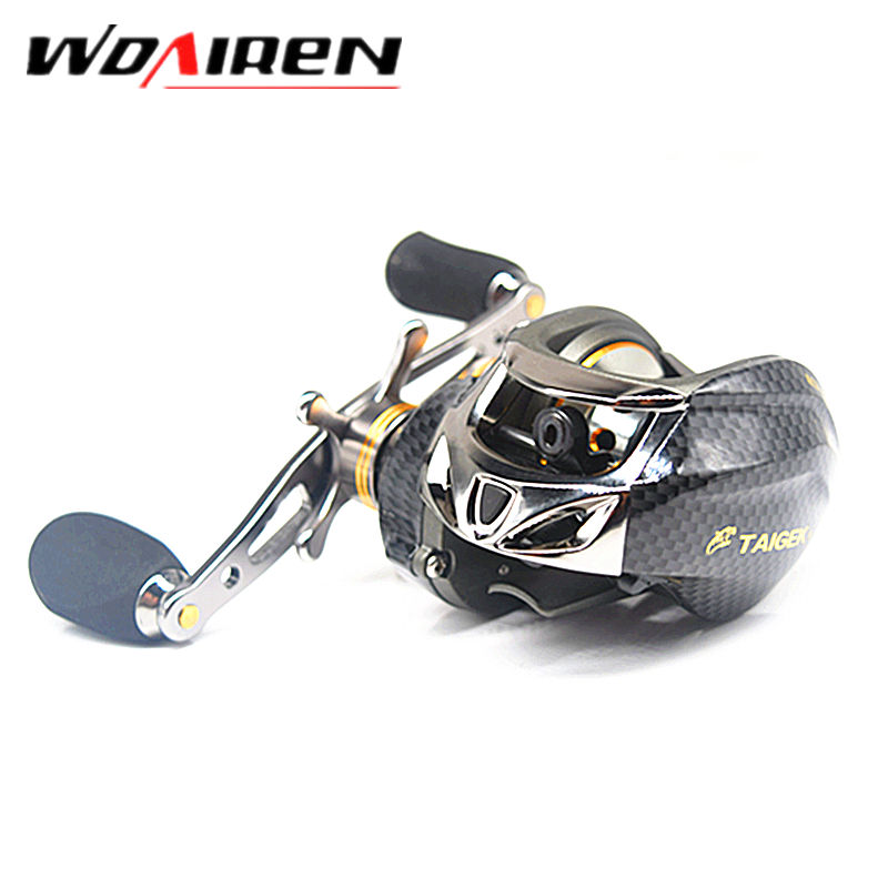 18 Ball Bearings Air Drop Wheel Double Brake Daiwa Taige Carretilha Bait casting Reel Fishing Gear Right / left hand