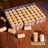SHARE HO 50:1 Pure Gold Moxa Stick Lengthening Thickening Chinese Herb Moxibustion Meridian Heat Therapy Burner 54pcs