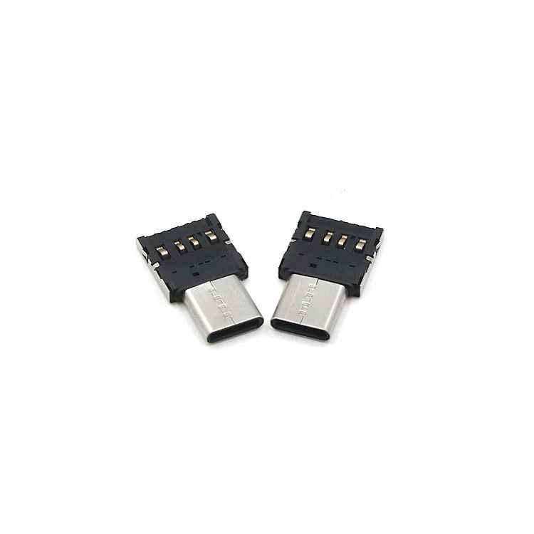 Typ C do USB OTG złącze Adapter do USB flash jazdy S8 Note8 telefonu z systemem Android