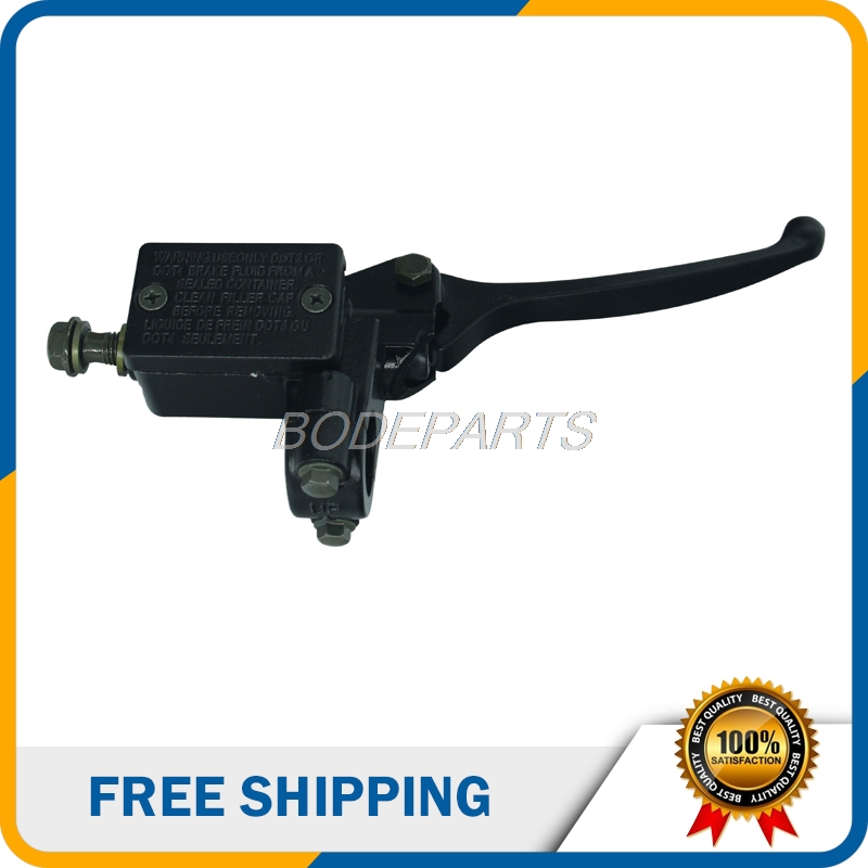 Motorcycle Parts Universal Motorcycle Brake Clutch Pump Lever Handle For ATV Dirt Pit Bike Scooter Go Kart Free Shipping black universal motorcycle bike front lever switch brake clutch through hole cable 2 wires