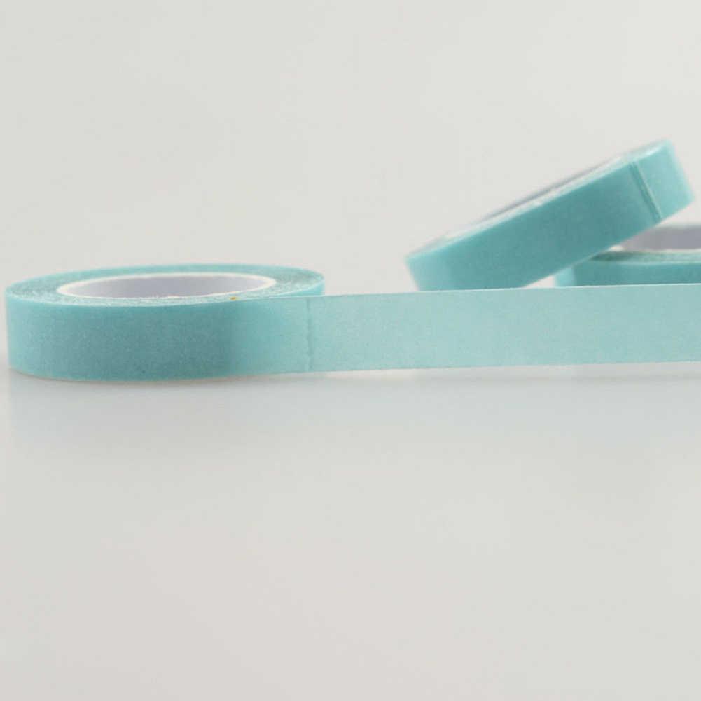 Синий парик с поддержкой фронта шнурка Двухсторонняя клейкая лента 300 см клейкая двухсторонняя шпилька фиксация парик для ленты волос расширитель