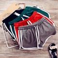 Uwback Summer Shorts Woman 2017 New Sexy Shorts Women Green/Black Soft Fitness Striped Women Casual Shorts TB1403