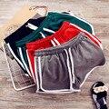 Uwback calções calções de verão mulher 2017 new sexy mulheres verde/preto macio aptidão listrado mulheres casual shorts tb1403