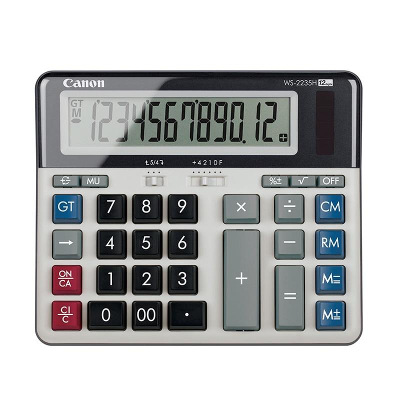 купить Canon WS-2235H computer keyboard calculator bank financial meeting office test computer по цене 1842.73 рублей
