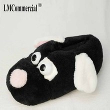 Winter Plush Home Floor Shoes House Slippers Children special Women Anime Cartoon Bear Slippers Lovers Warm Woman Slippers недорого
