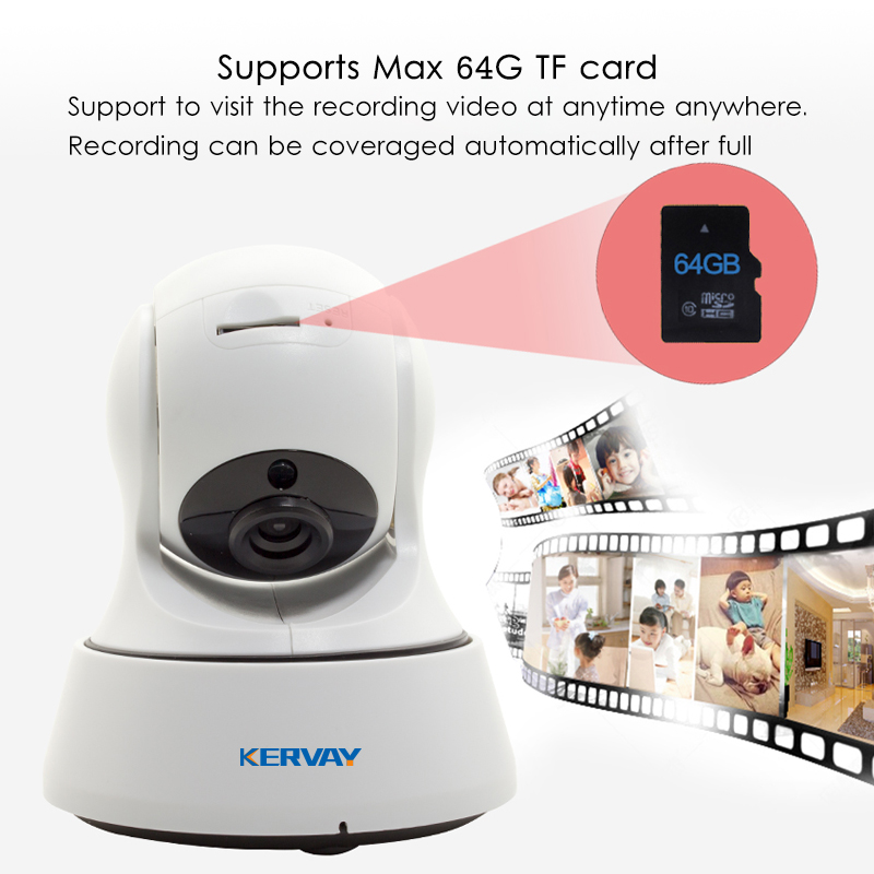 Image 4 - 1080P HD Wifi Camera Network Surveillance Night Camera Indoor Home P2P CCTV Camera Wifi Function Onvif Camera With Two way Audio-in Surveillance Cameras from Security & Protection