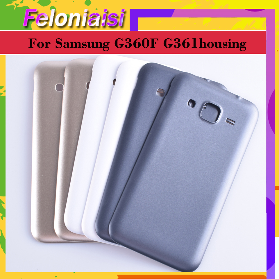 For Samsung Galaxy Core Prime G360 G360H G360F G361 G361F G361H Housing Battery Cover Back Cover Case Rear Door Chassis