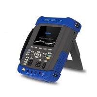 DSO8202E цифровой Osciloscopio USB ПК на основе хранения ЖК дисплей Автомобильный Осциллограф портативный мультиметр 200 МГц 2 Каналы инструмент
