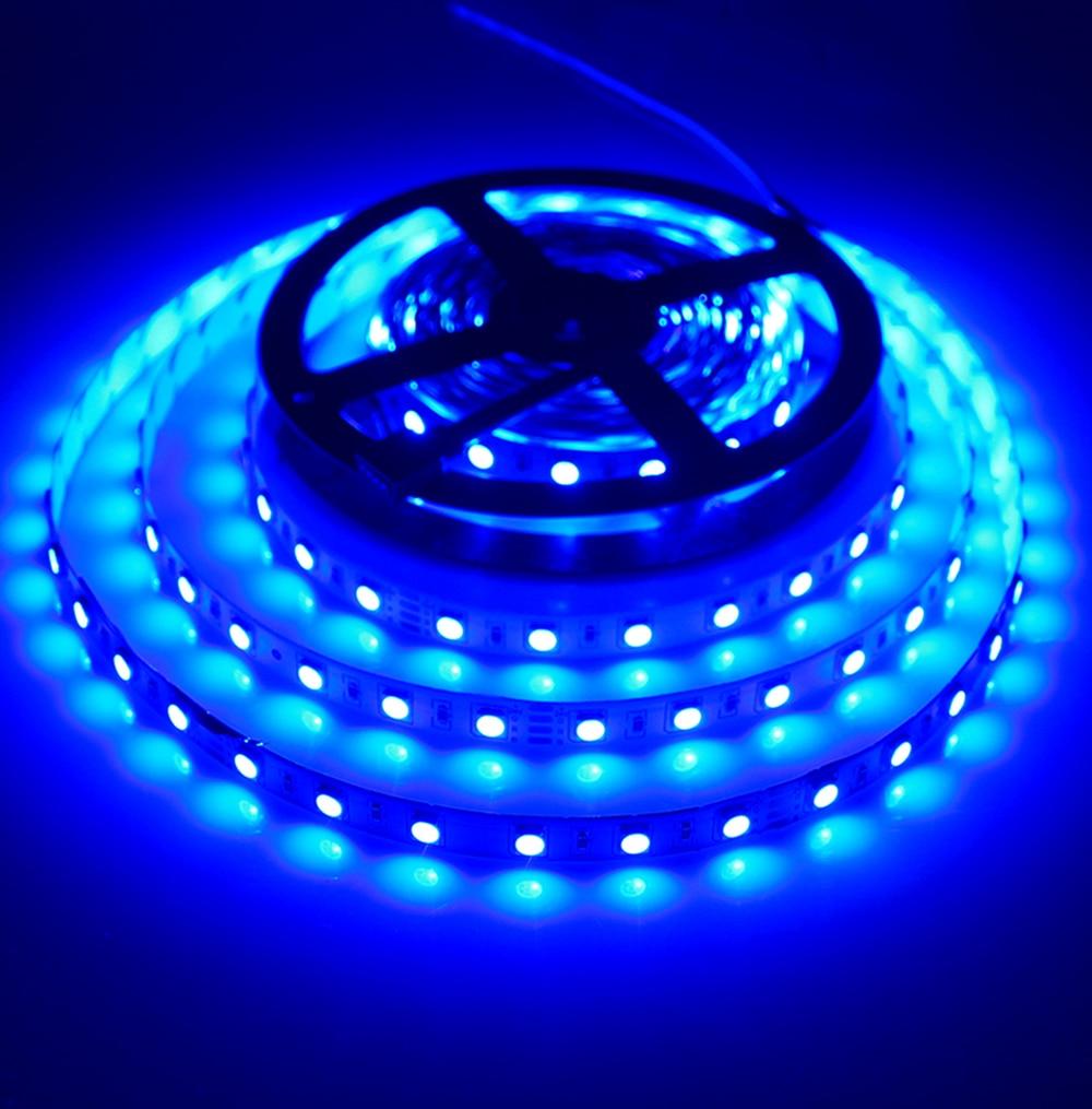 DC24V nem vízálló 5050 RGB Led szalagfény 5M 300Leds 60Leds / M - LED Világítás - Fénykép 4
