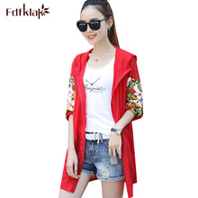 Fdfklak Spring autumn clothes for pregnant women hooded cardigan long pregnancy coat maternity jacket protection windbreaker