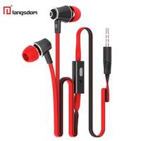 Original Langsdom JM21 Earphone In-ear Stereo Bass Hifi Headset with Microphone Earbuds for Android IOS Mobile Phones xiaomi