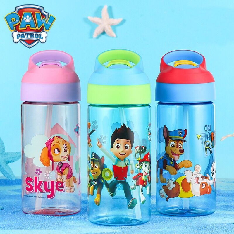 Original! Genuine Paw Patrol Puppy Patrol Canine Kids Cup Toys Bottle Patrulla Canina Action Figure Juguetes Patrol Canine 500ML