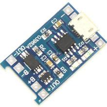 Inteligente electrónica 5 v micro usb 1a 18650 batería de litio de carga módulo cargador junta de protección para arduino diy