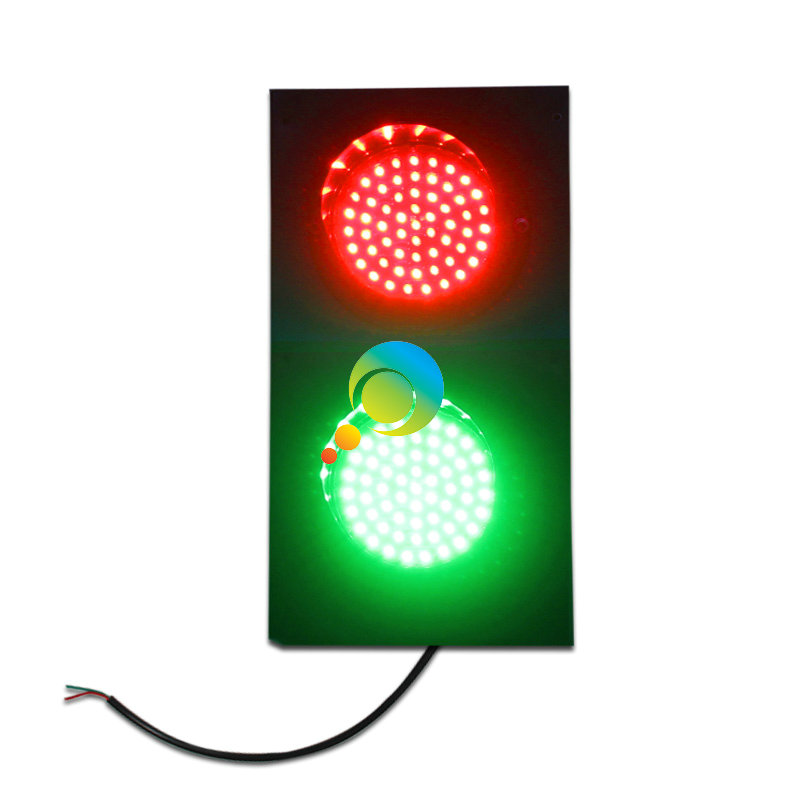 Shenzhen Factory Unique 125mm Mini LED Traffic Light Sport Playground Traffic Signal Light