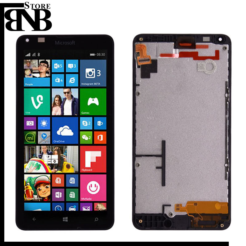 For Microsoft Nokia Lumia 640 LCD Display with Touch Screen Digitizer Assembly with frame OR without frame lcd for lumia 640For Microsoft Nokia Lumia 640 LCD Display with Touch Screen Digitizer Assembly with frame OR without frame lcd for lumia 640