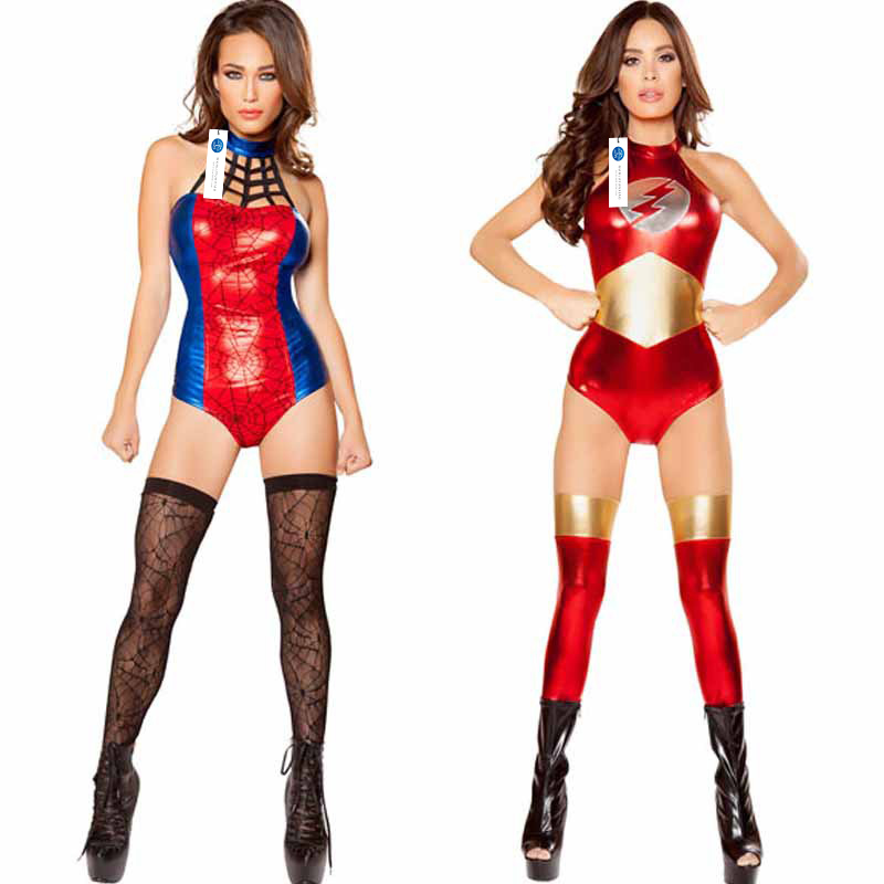 ManLuYunXiao 2017 Cosplay Batman Costume Roleplay Superman Superwoman Sexy Dress Halloween Party Masquerade Uniforms Christmas