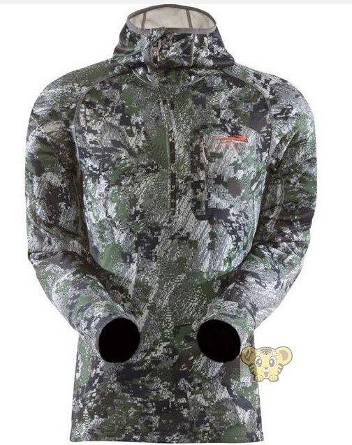 2017 Новые Люди Ситка Ядро Капюшоном Половина Молния Куртка Повседневная пальто Плюс Размер M-2XL Оригинальный США Размер Толстая Шерсть Снаружи куртки