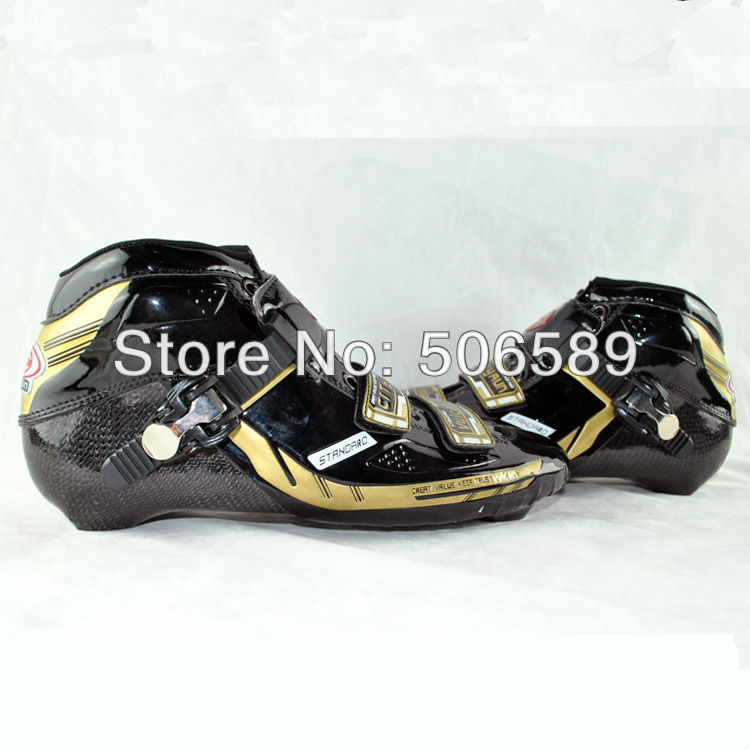 Free Shipping Speed Skating Shoes Parts Black Color