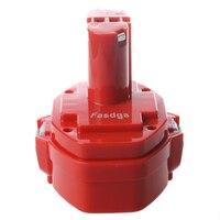 Fasdga 14.4V 3.0Ah NiMH Battery for Makita 6281D 6333D 6336D 6337D 6339D Red