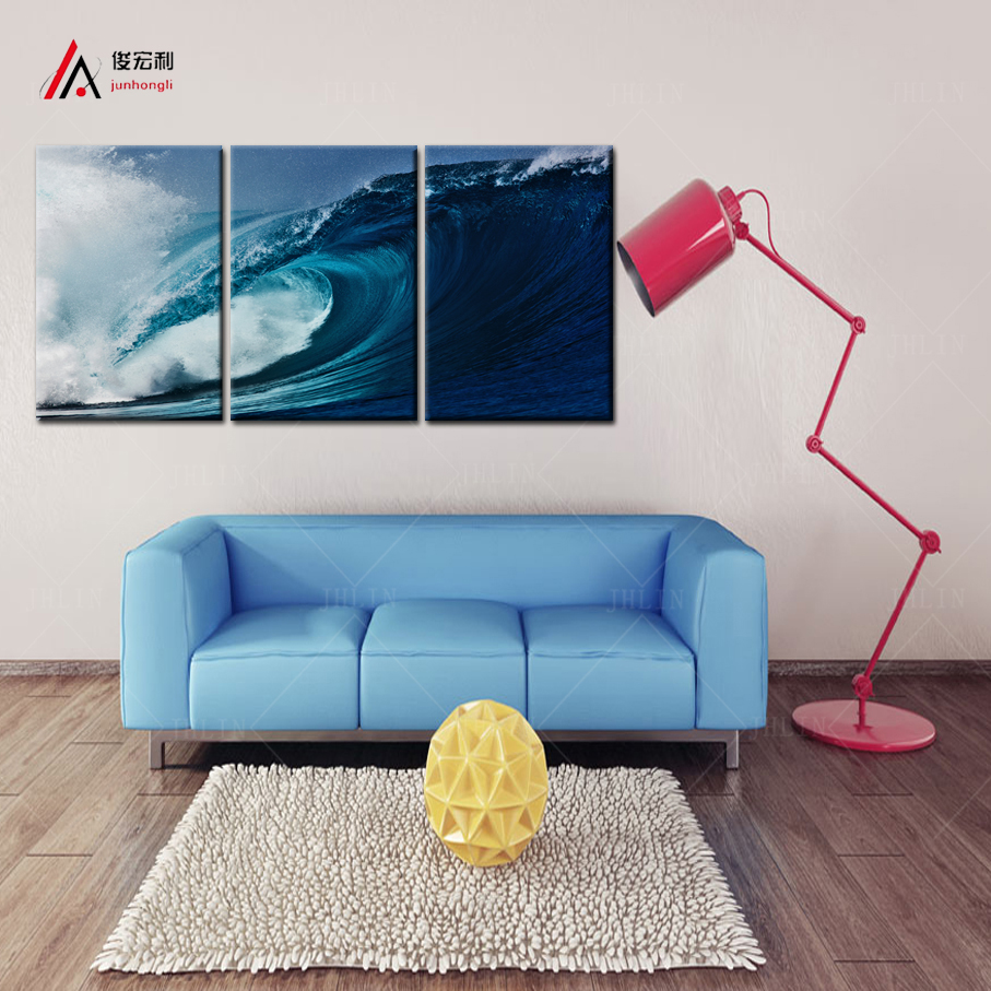 3 Panel Home Decoration Canvas Prints Oil Paintings Kitchen Giclee Prints  Iceland Surf Canvas Poster Wall Art Painting Table ff6a1af06e99