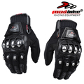 New Madbike protective Gloves motorcycle Stainless Steel Sports Racing Road Gears Motorbike motocicleta guantes moto luvas