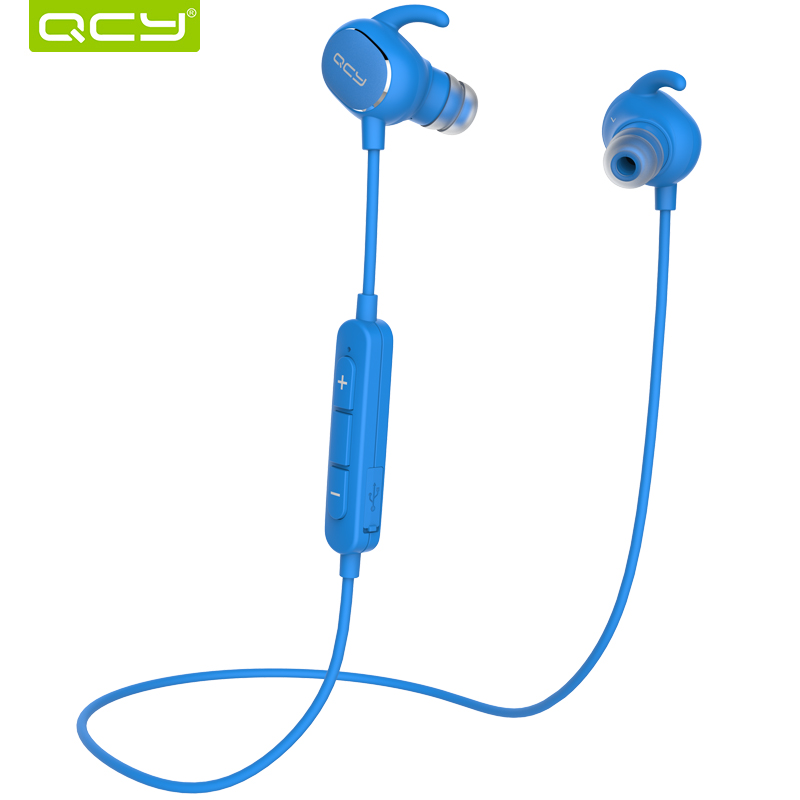 QCY QY19 IPX4 Sweatproof Stereo Bass Bluetooth Headphones Wireless Sports Earphones aptx Headset with MIC for