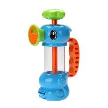 Детская Ванночка Водные Игрушки Sea Horse Пожаротушения Насосных Дизайн Красочные Гиппокампа Форма Экологичный АБС Пластик Детские Игрушки Ванны