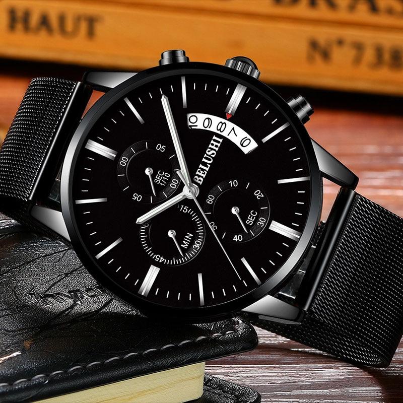 Man Wrist Watch Men Watches 2018 Luxury Brand Male Clock Business Classic Quartz Wristwatches Watches For Men Relogio Masculino цена