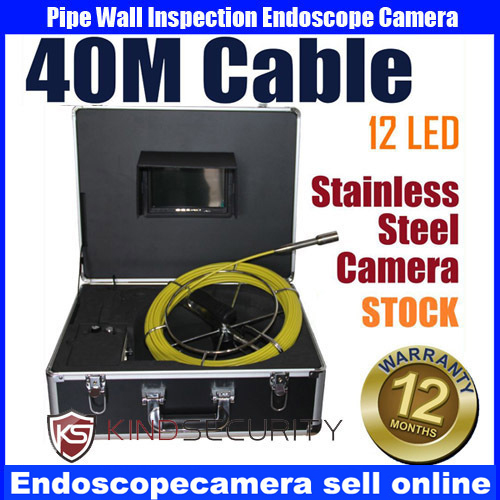 40M Cable Sewer Pipe Drain Pipe Wall Inspection Camera40M Cable Sewer Pipe Drain Pipe Wall Inspection Camera